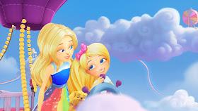 Animação BARBIE DREAMTOPIA tem como cenário a terra de sonho criada pelas irmãs - Divulgação