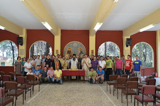 Οι Φοιτητές της Γ.Ε.Χ.Α. Κατερίνης στο Άγιον Όρος
