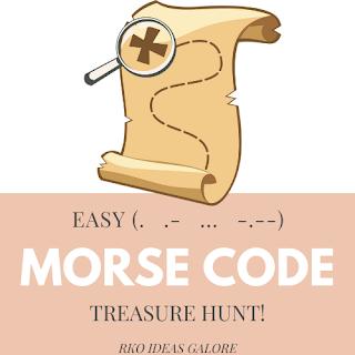 Morse Code Treasure Hunt