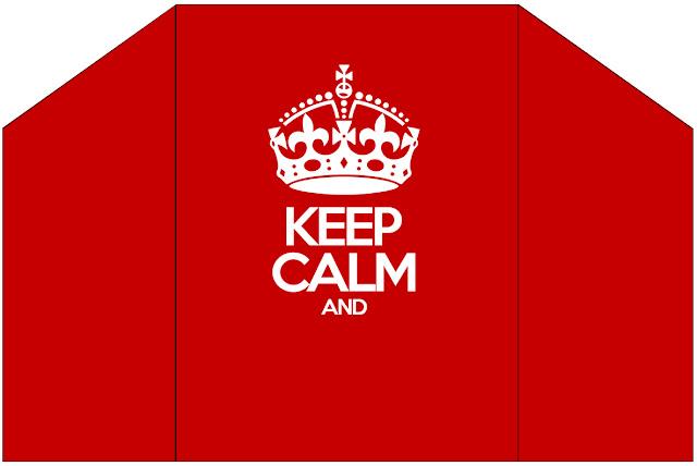 Keep Calm: Free Printable Invitations.
