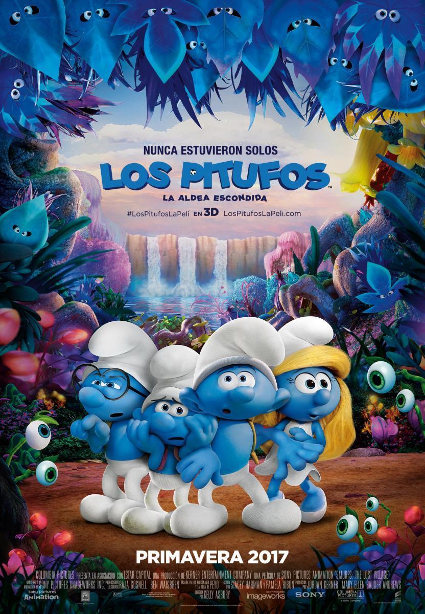 Los Pitufos En La Aldea Perdida (2017) BrRip 1080p Latino