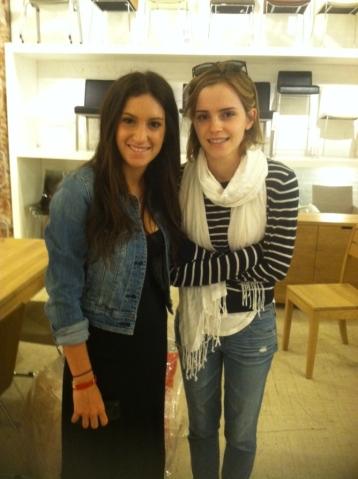 Emma Watson: Emma Watson buying furniture for her New York apartment
