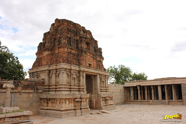 The magnificent Vitthala temple at Hampi