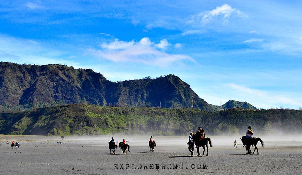 Lautan Pasir Gunung Bromo Wisata Gunung Bromo Tengger Semeru