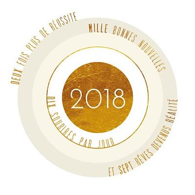 Bonne ann e 2018 carte de voeux for Carte de voeux humour