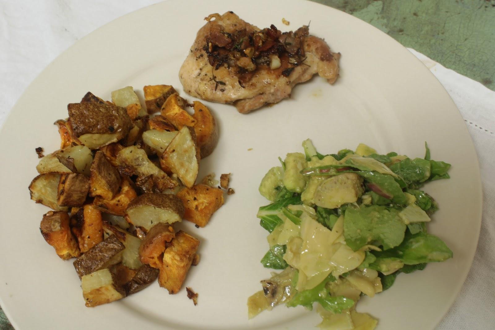 Arugula Artichoke Avocado Salad