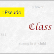 Basic Pseudo-classes in CSS