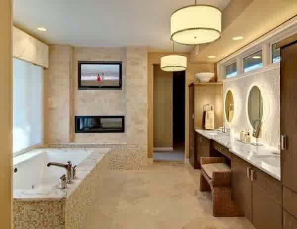 Desain kamar mandi minimalis mewah yang nyaman