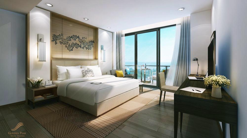 Thiết kế căn hộ của Golden Peak Nha Trang