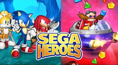 SEGA Heroes Apk for Android – Match 3 RPG Game with Sonic & Crew!