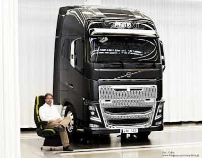 Rikard Orell, dyrektor działu wzornictwa w Volvo Trucks