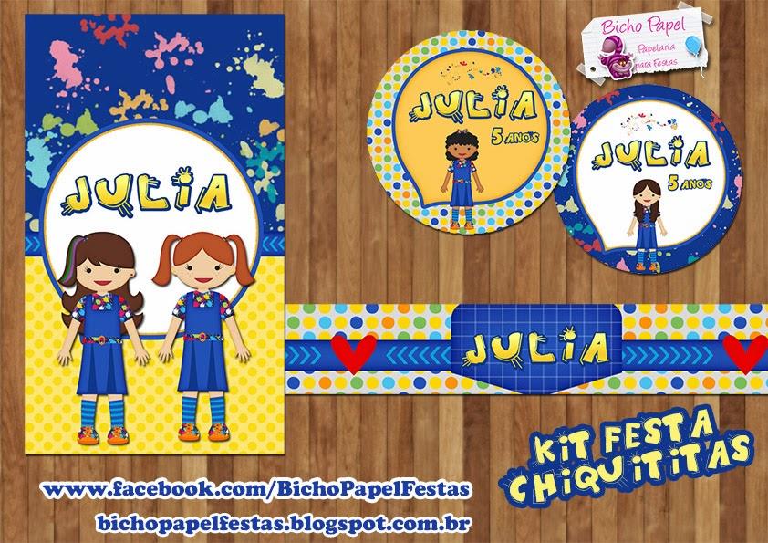 Kit Festa Chiquititas