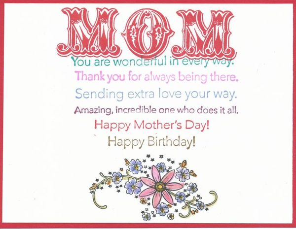 Happy Birthday Wishes For Mothers