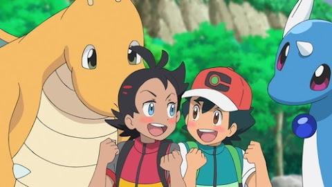 Capitulo 10 Serie Viajes Pokémon: ¡El paraíso de Dragonite y la prueba de Dragonair!