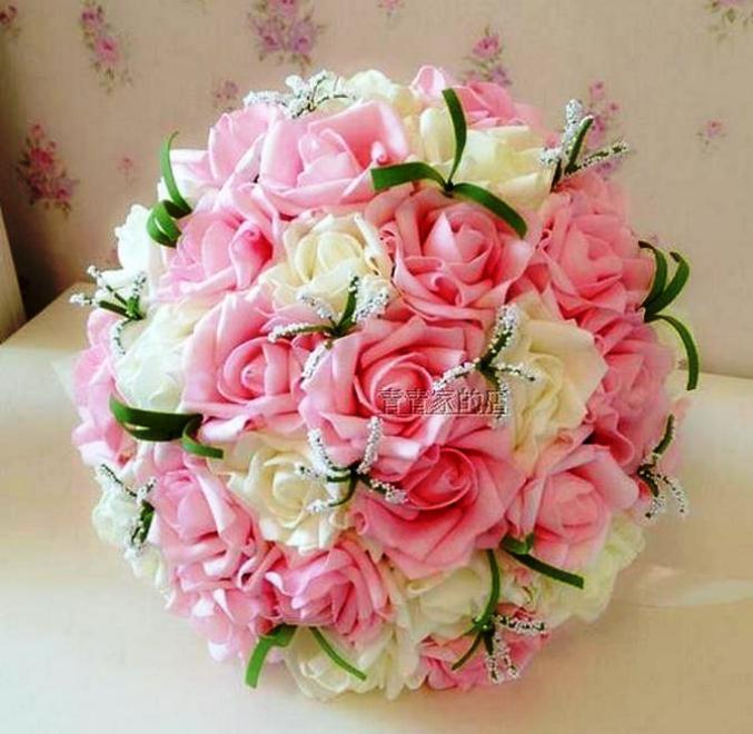 Buket Bunga Pengantin_Bunga Pernikahan Cantik Dan Indah 201706