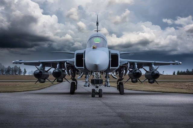 Saab Gripen E testing programme