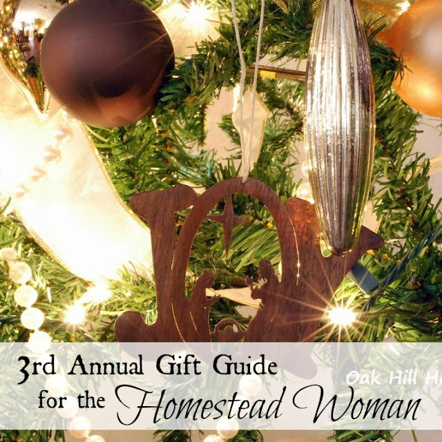 Third annual gift guide for the homestead woman