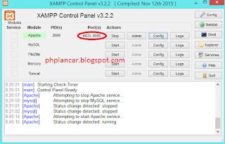 7 - Tutorial Mengganti Port Pada Mysql Dan Apache Di Xampp Versi Terbaru