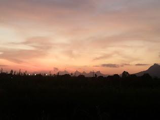 evening view of present chandwad city