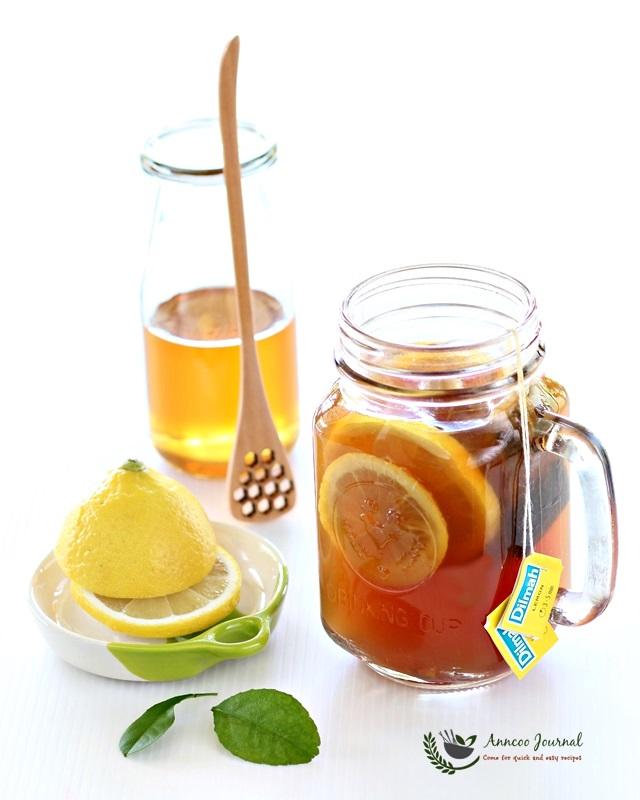 Honey Lemon Ginger Tea 蜂蜜柠檬姜茶 | Anncoo Journal - Come for ...