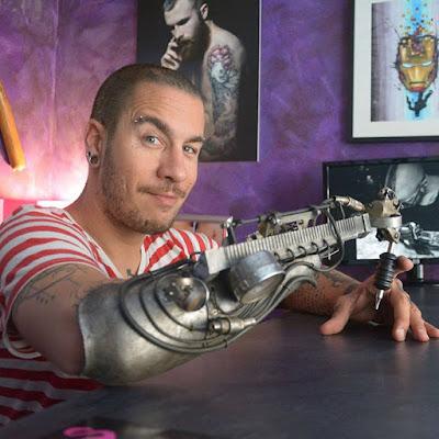 JC Sheitan Tenet e la passione per i tattoo