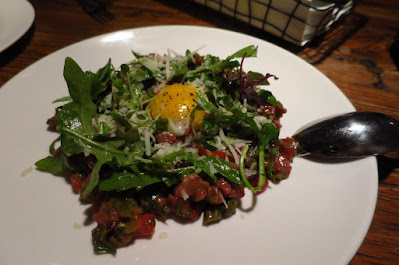 Fish & Meat, beef tartare