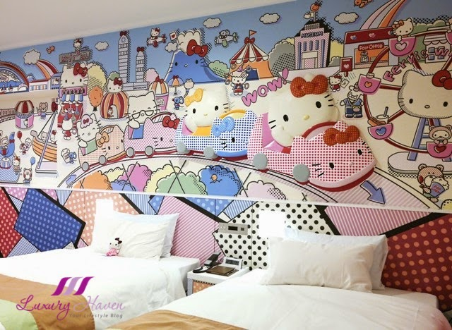 keio plaza hotel japan hello kitty bedroom wanderlust