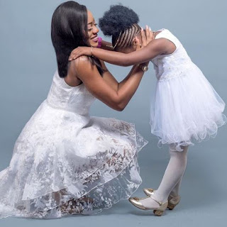 Adorable photos of BasketMouth's Daughter as she celebrates her 6th birthday