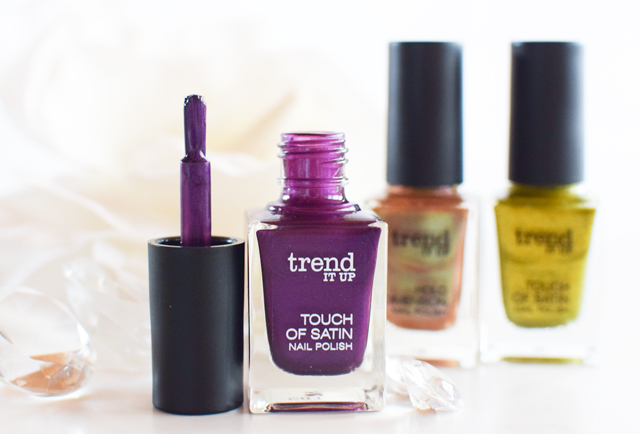 der Pinsel der neuen dm Trend it Up Nagellacke