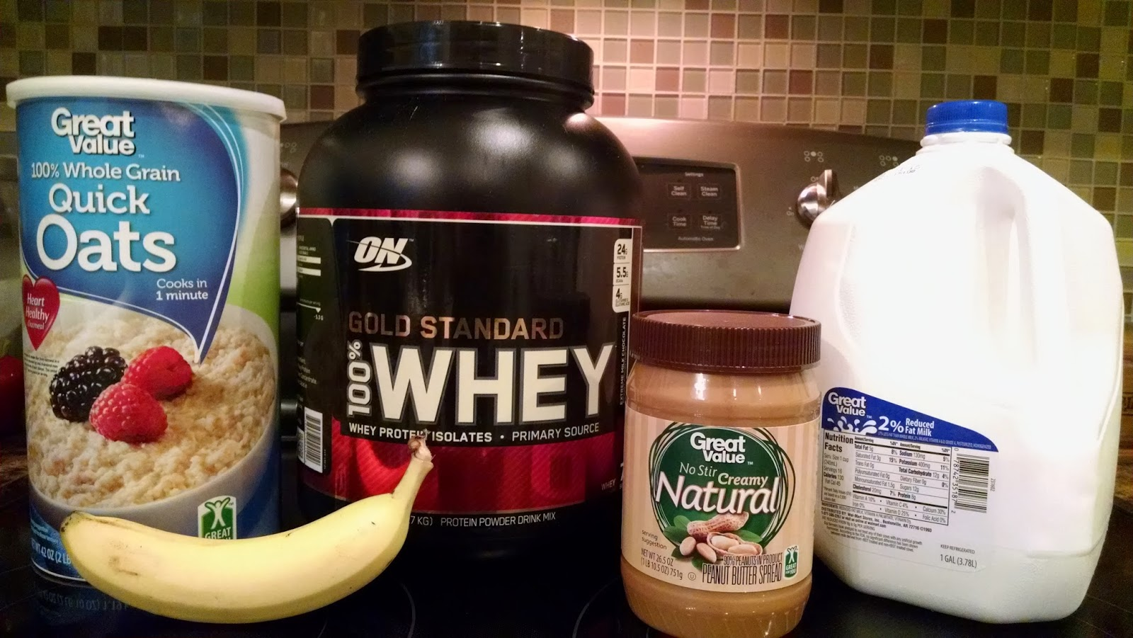Gain over 12 lbs in 4 weeks: Homemade Weight Gainer Shake