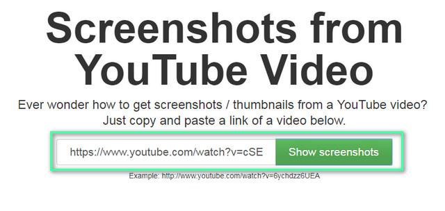 Mengambil Gambar Pada Video YouTube