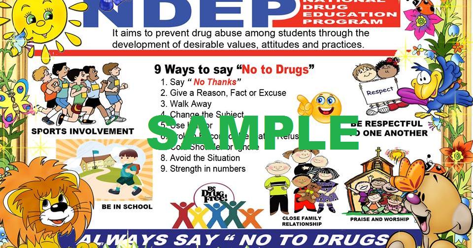 High Quality Poster for NDEP Corner   DEPED TAMBAYAN PH