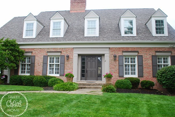 Sweet chaos home august 2014 - Try out exterior paint colors online ...