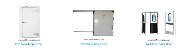 Cold room door with all accessories from OnlyKem