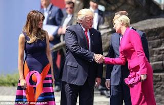 Polish handshake