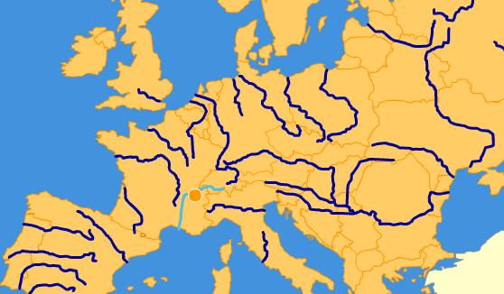 Mapa Interactivo Rios Europa.Mapa Rios Europa Interactivo