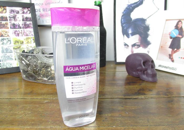 Água Micelar, demaquilante sem óleo, demaquilante loreal