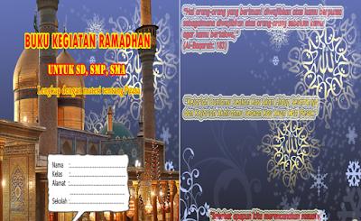 Buku Kegiatan Ramadhan Format Word Siap Cetak