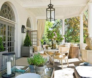 Teras Rumah Minimalis Sederhana Vintage dan Modern