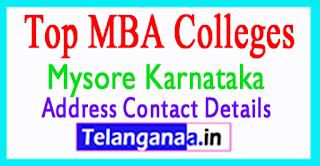 Top MBA Colleges in Mysuru (Mysore) Karnataka