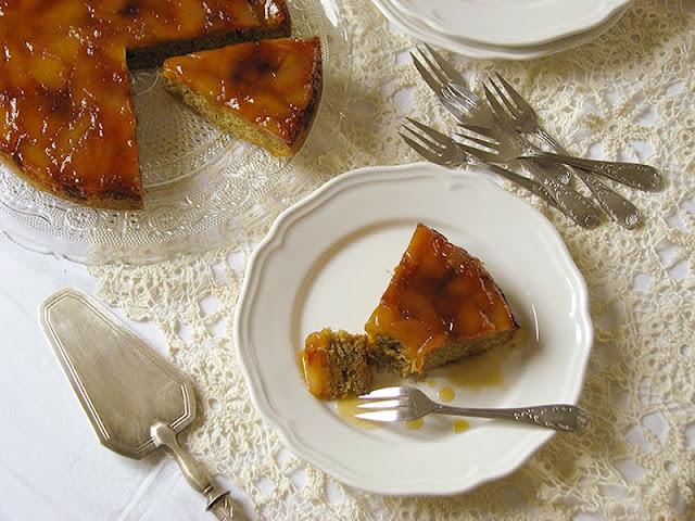 recette de tarte Tatin bio sans beurre