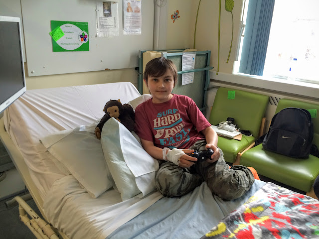 Danny's stay at Birmingham Children's Hospital