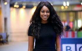 Photos: Yvonne Nelson on BBC live show