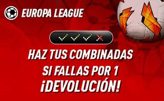 sportium Europa League: Combinada con seguro 8 noviembre
