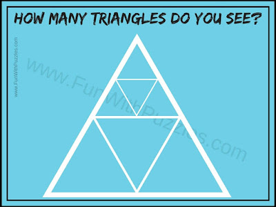 How many triangles in Figure Picture Puzzle