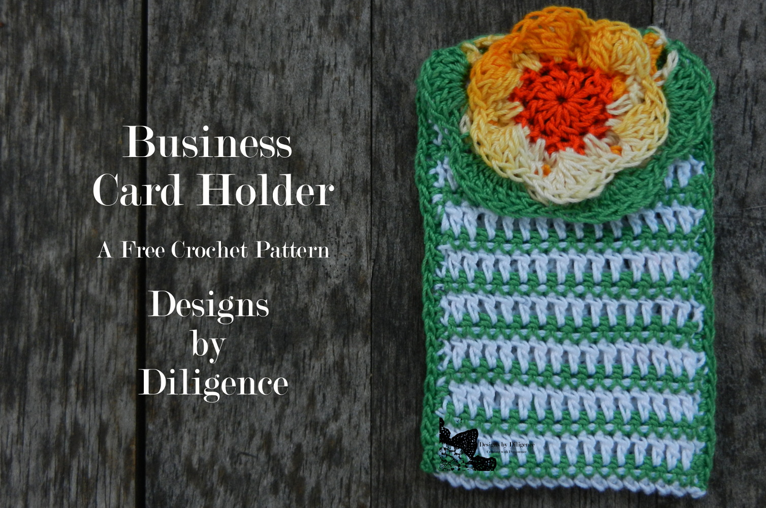 Designs by Diligence: business card holder