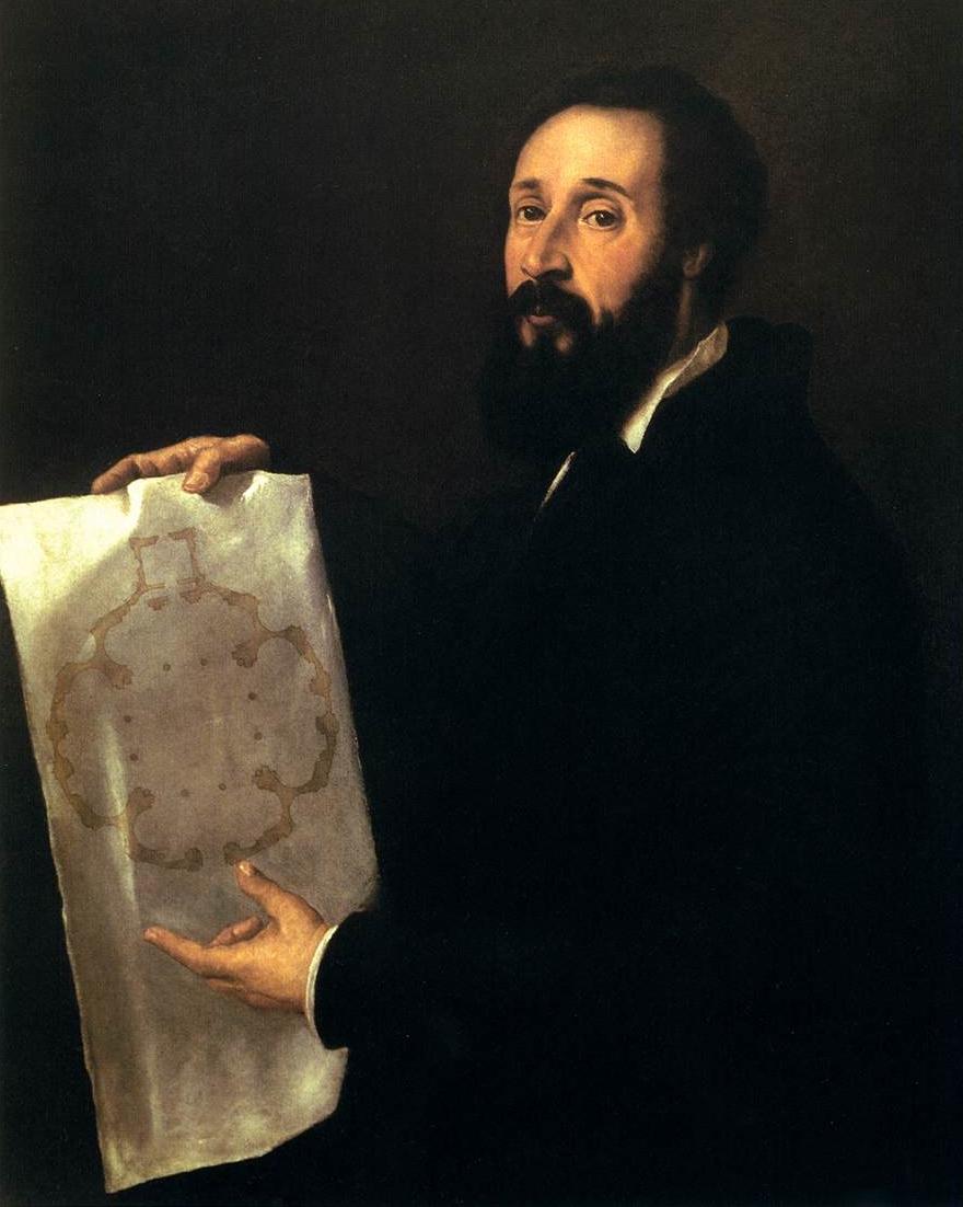 Tiziano  Vecellio  Ritratto  di  Giulio  Romano C  Mantova C