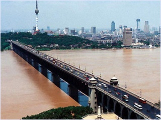 สะพานข้ามแม่น้ำแยงซี (Wuhan Yangtze Great Bridge)