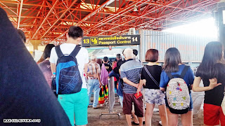 Immigration in Thailand passport control Malaysia