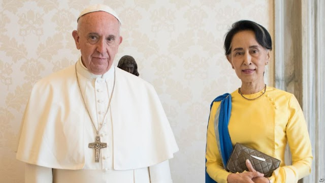 #HumanRights : Politics and religion :Pope's trip to Myanmar ( will going to use as cover of Rohingya massacre ?)